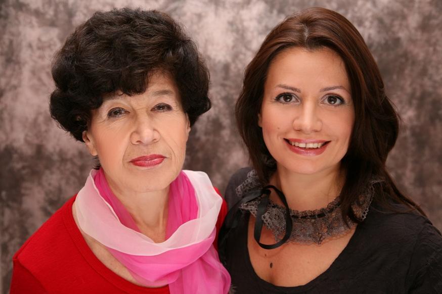 Я и моя мама. Красотки