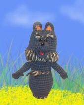Серый Волк. Самодельные игрушки