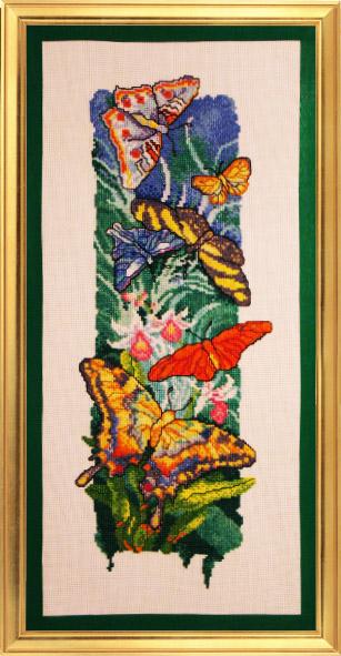 074_бабочки. Феи,  эльфы, бабочки и др. насекомые