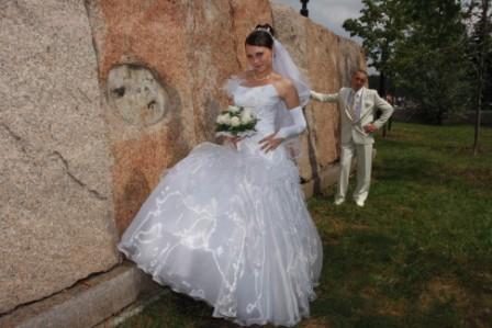 свадьба. Она и Он