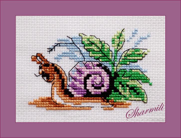 Веселая улитка (Кларт, 6-084). Животные