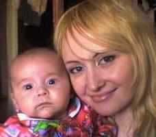 Я и мой сынуля. Вместе с мамой