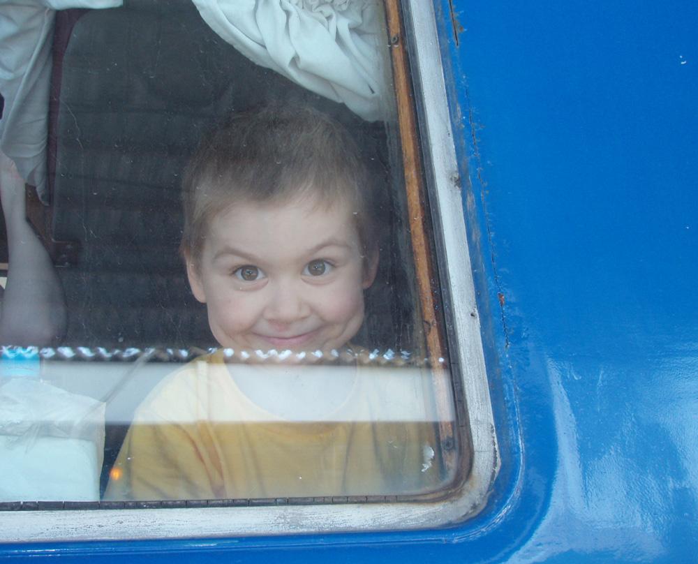 Путешествие на поезде!. Юные путешественники