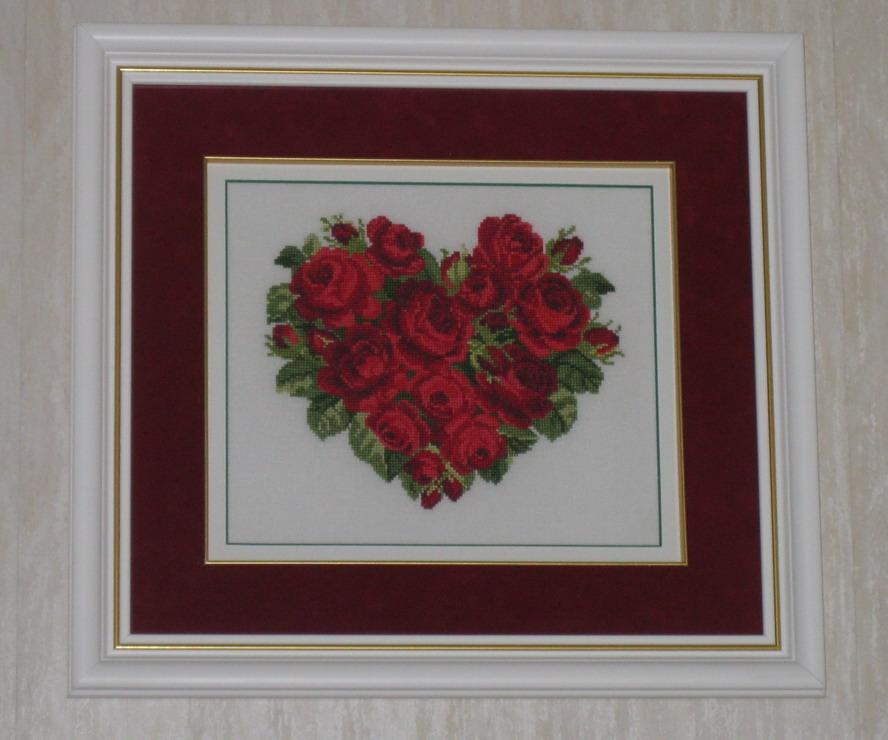 Сердце из роз EMS. 2009