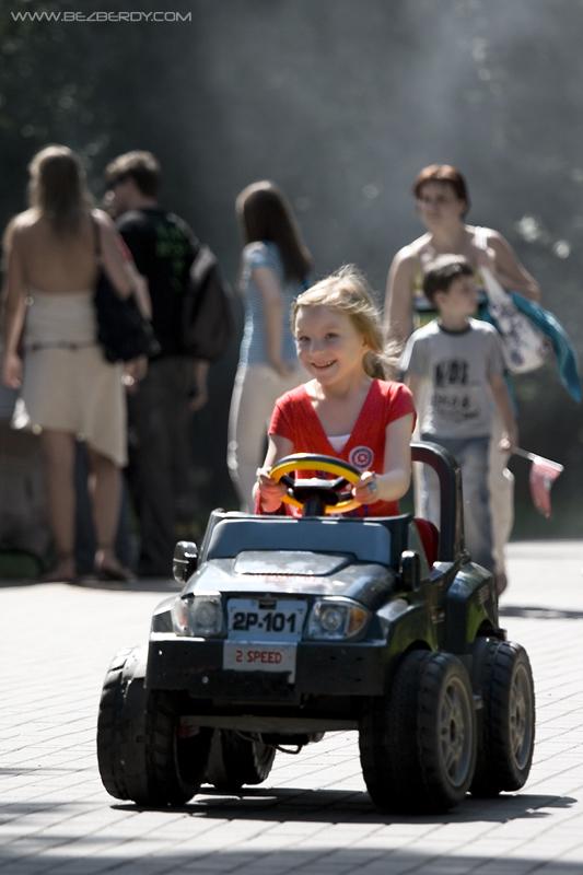 Машка Шумахер. Дети и техника