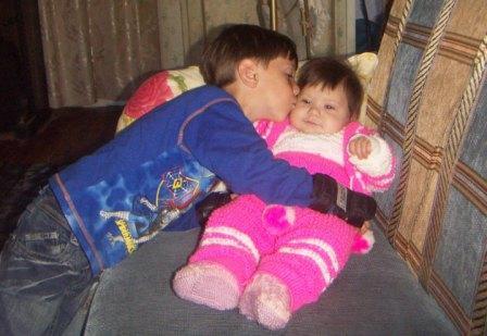 Сестричка милая моя. Братская любовь