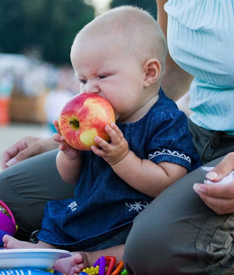 An apple a day.... Пробуем на зуб!