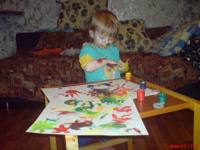 '...как хорошо  ложиться краска...'. 'ВыТворяшки'