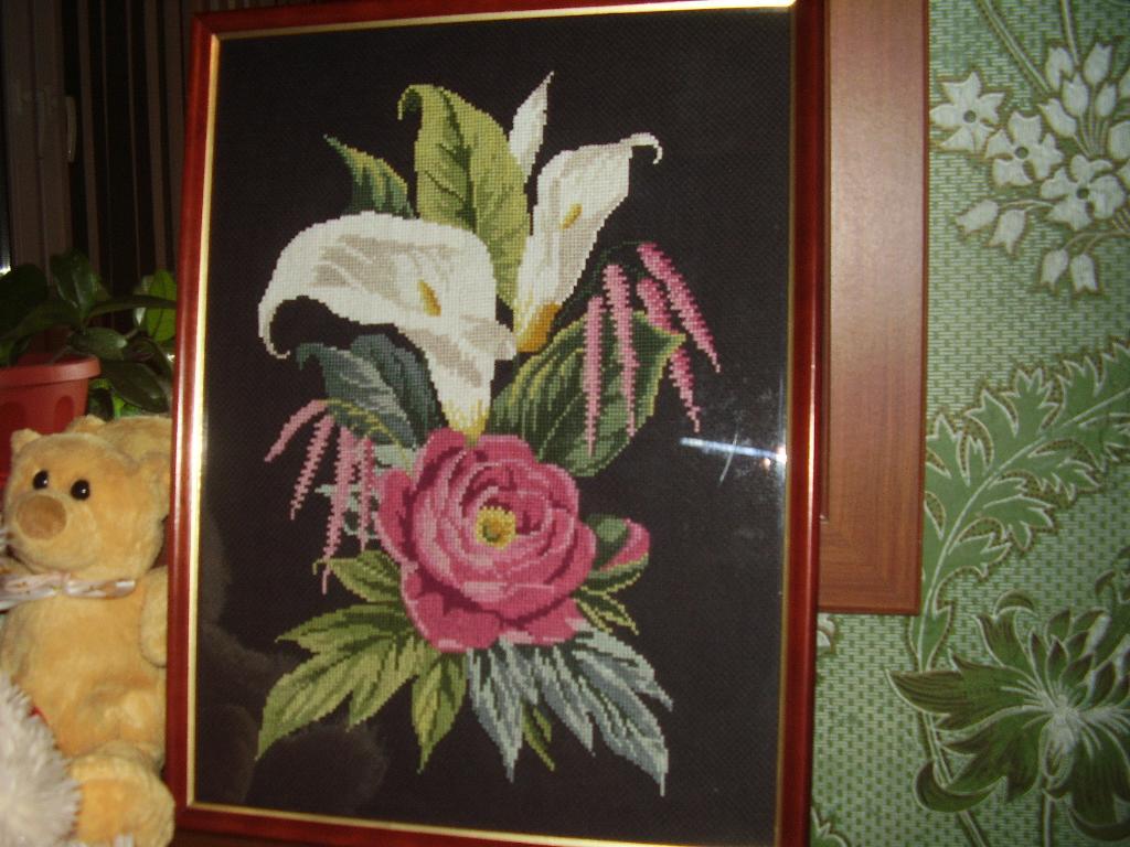 пионы и каллы. Растения (в основном цветы)