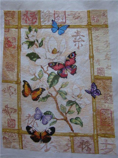 бриллиантовые бабочки. Рукодельный конкурс 'Дары лета'