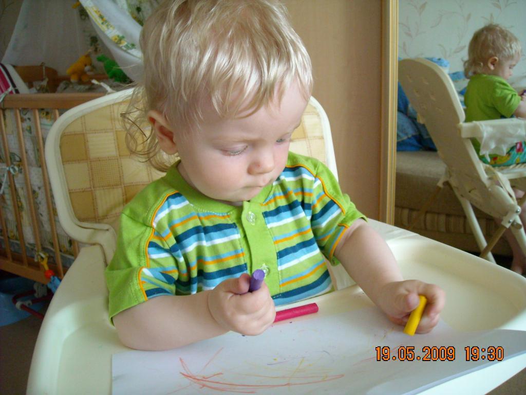 Маленький художник. 'ВыТворяшки'