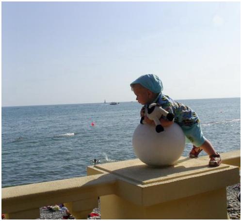 Малыш и море. Юные путешественники