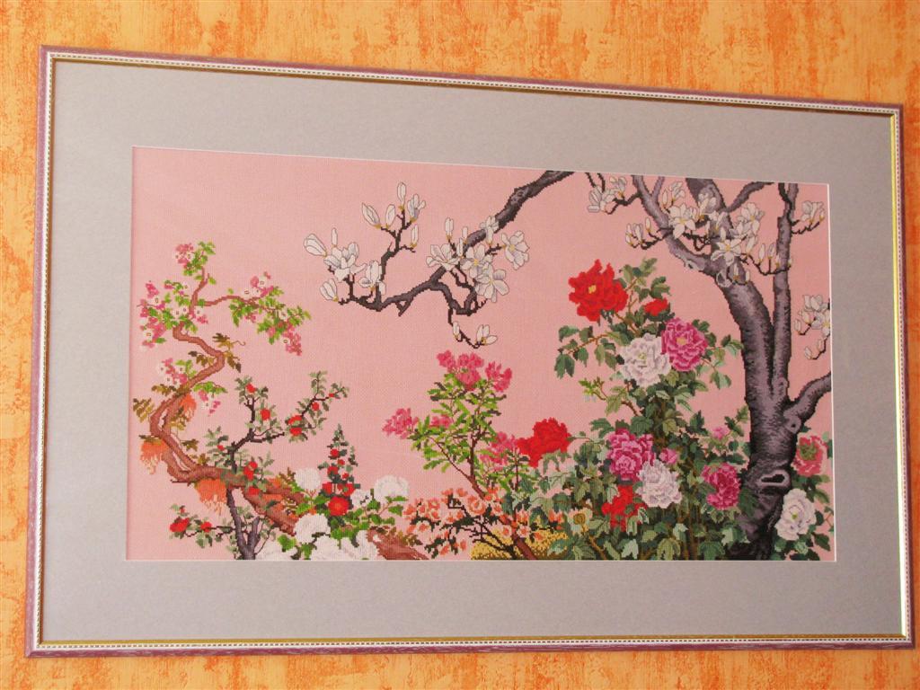 Цветущий сад. Рукодельный конкурс 'Весна идет'