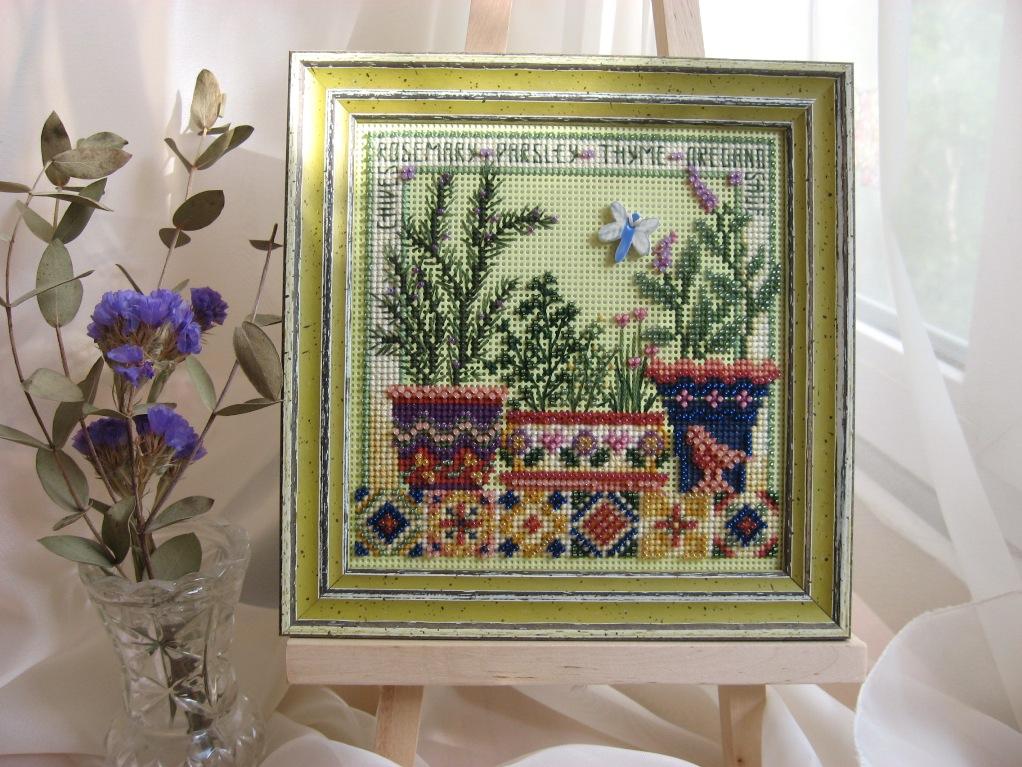 Праздник ароматных трав. Рукодельный конкурс 'Дары лета'