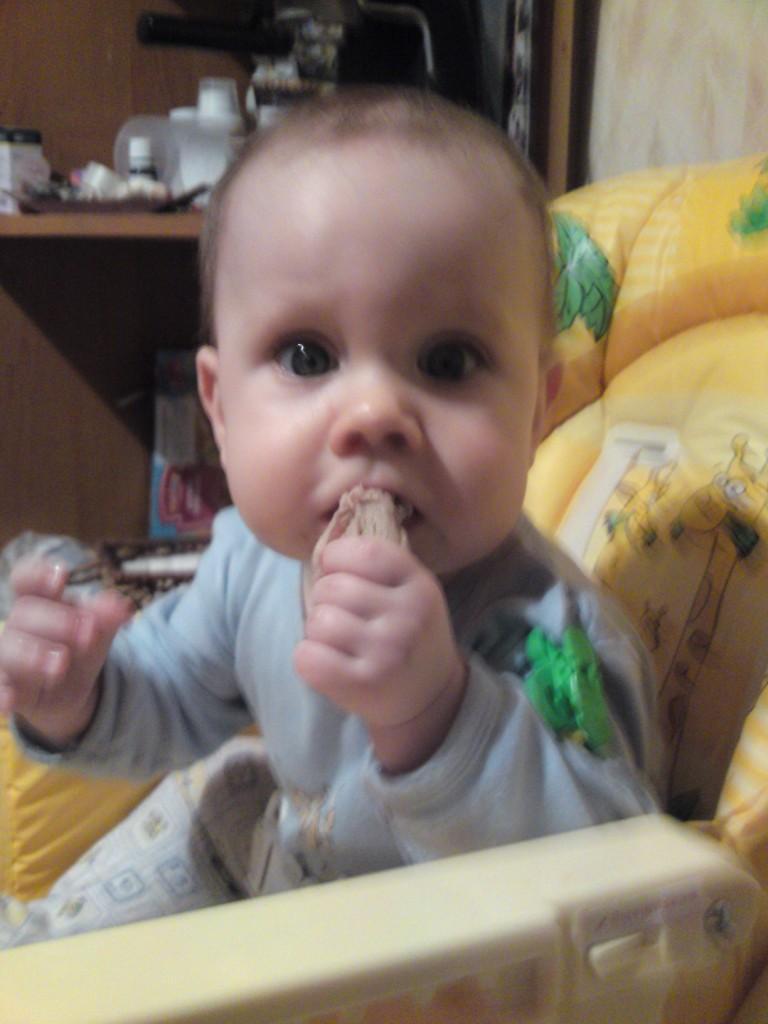 Мужик ест мясо!!!. Пробуем на зуб!