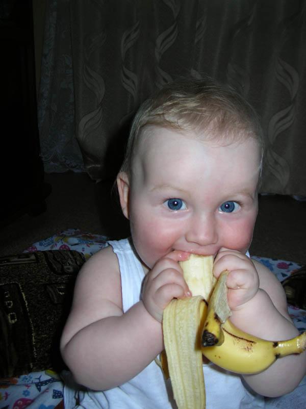 Вкусный банан. Пробуем на зуб!