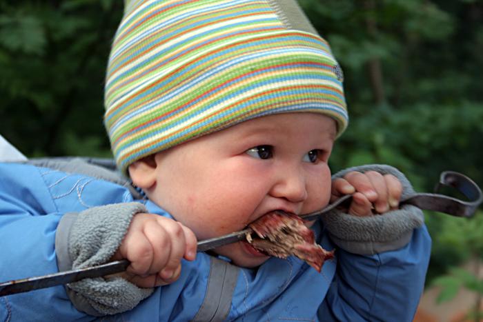 Эх,соуса маловато.... Пробуем на зуб!