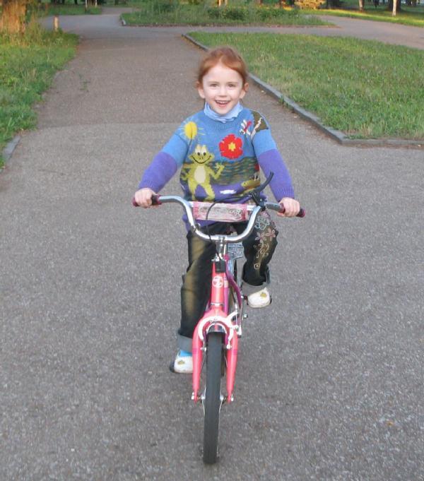 Велосипедистка. Юные путешественники