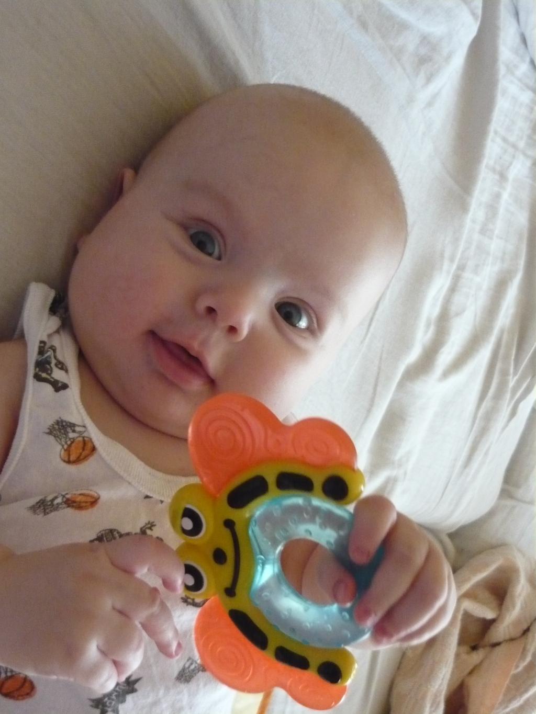 Матюша с любимой игрушкой. Мои игрушки