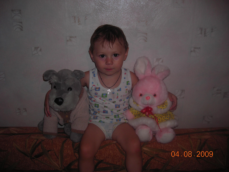 Две игрушки и Андрюшка. Мои игрушки