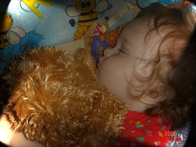 С любимым медведям и спится слаще. Мои игрушки