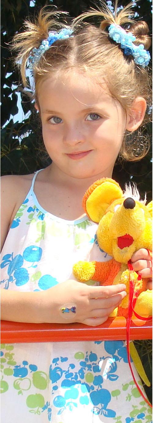 Инесска-принцесска и её любимая Мышка. Мои игрушки