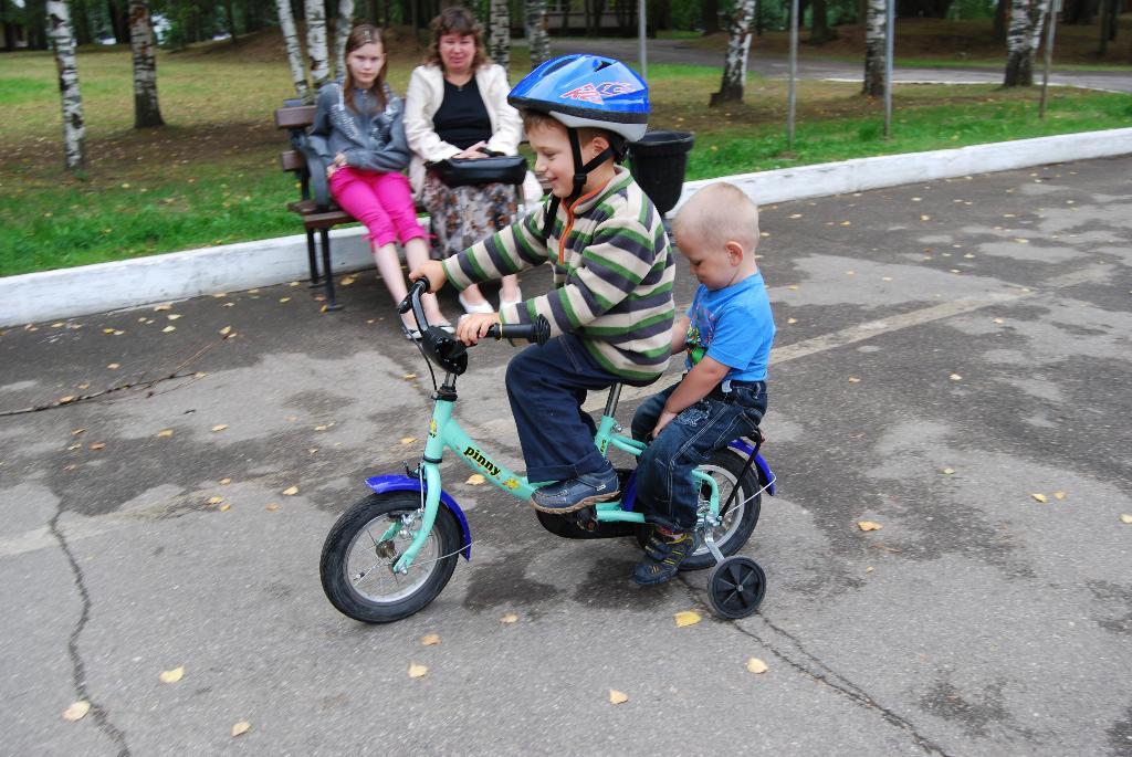 Герои велотреков. Маленький герой