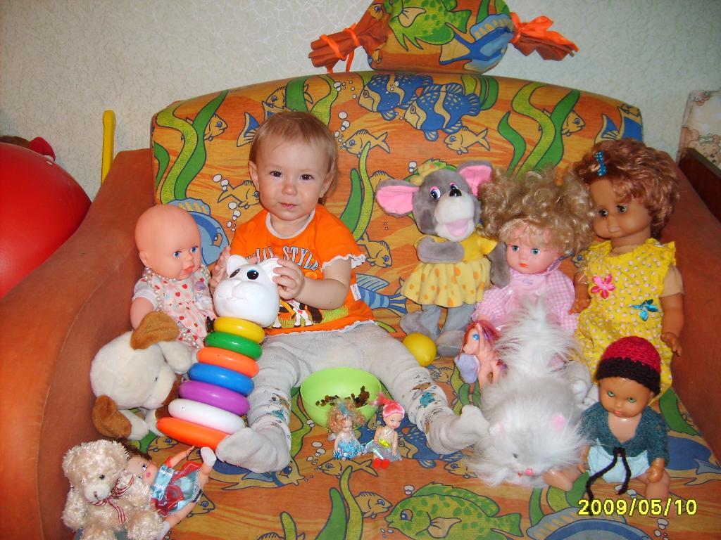 Машенька и её подружки. Мои игрушки