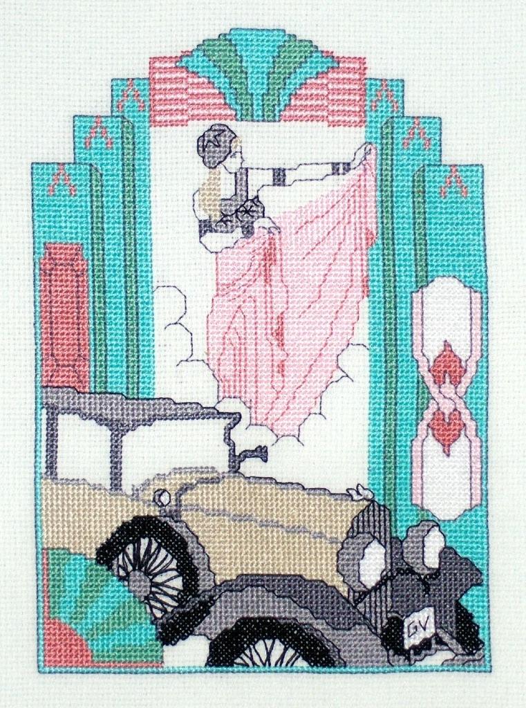Art Deco Dancer. Женские образы