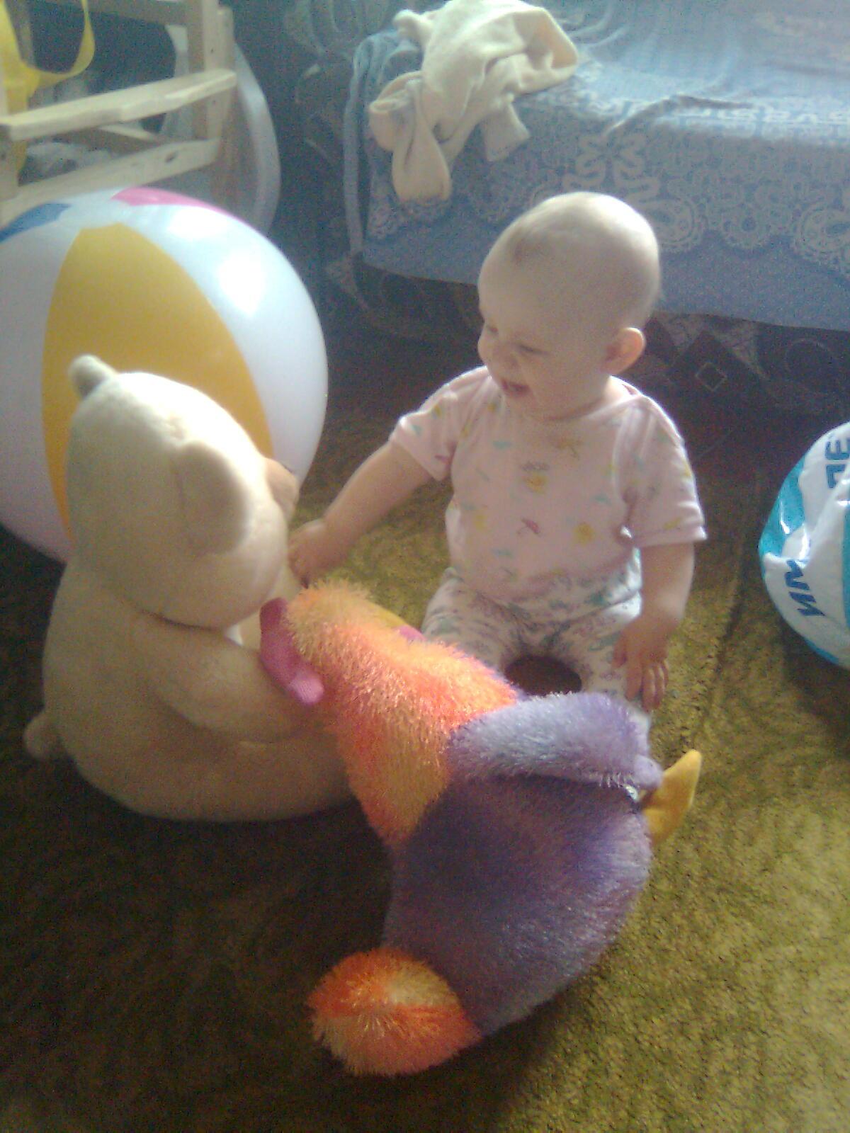 Сын малыш или игрушки большухи?. Мои игрушки