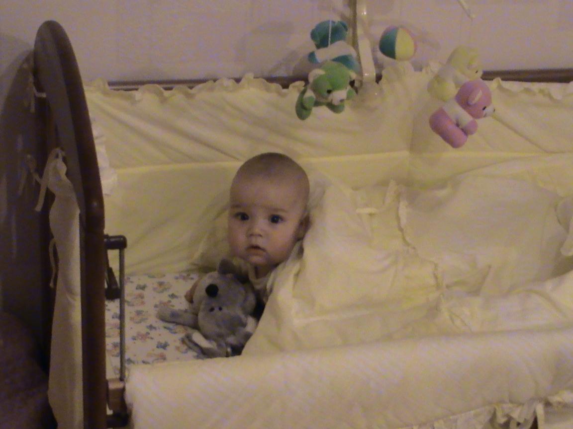 Алина и мышка. Мои игрушки