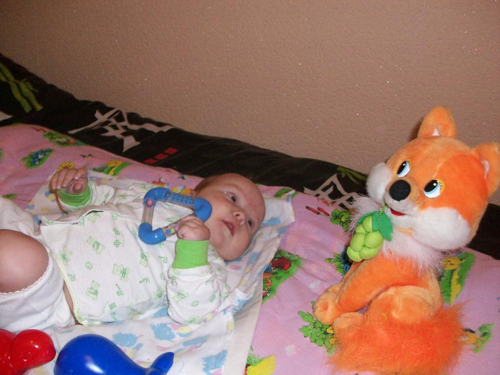 Моя подружка Лисичка. Мои игрушки