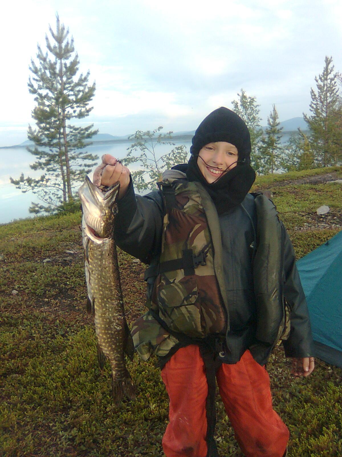 Рыбак. Маленький герой