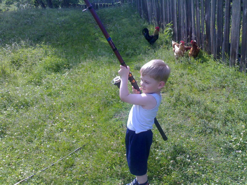 Ловись, рыбка, большая и маленькая. Маленький герой