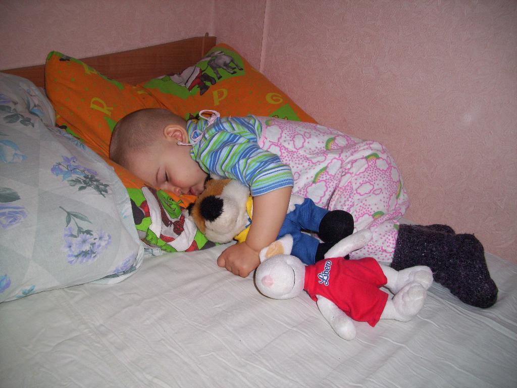 Два любимца для сладкого сна. Мои игрушки