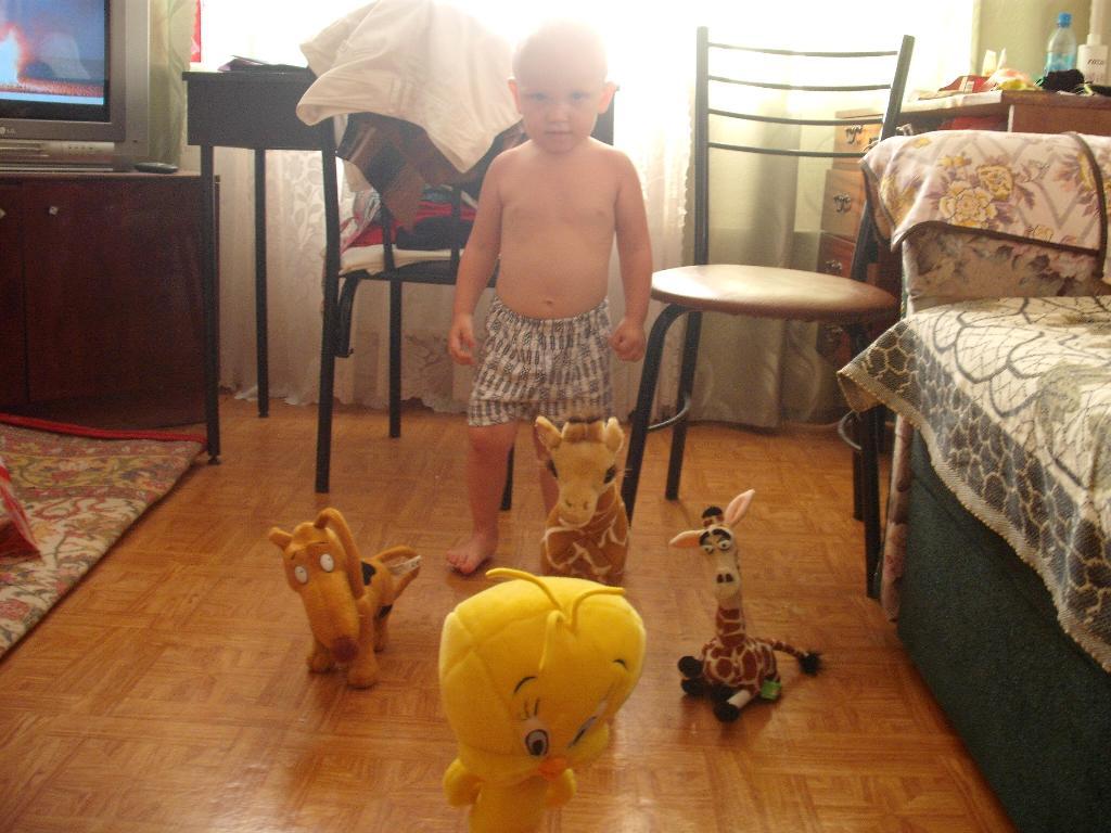 зоопарк. Мои игрушки