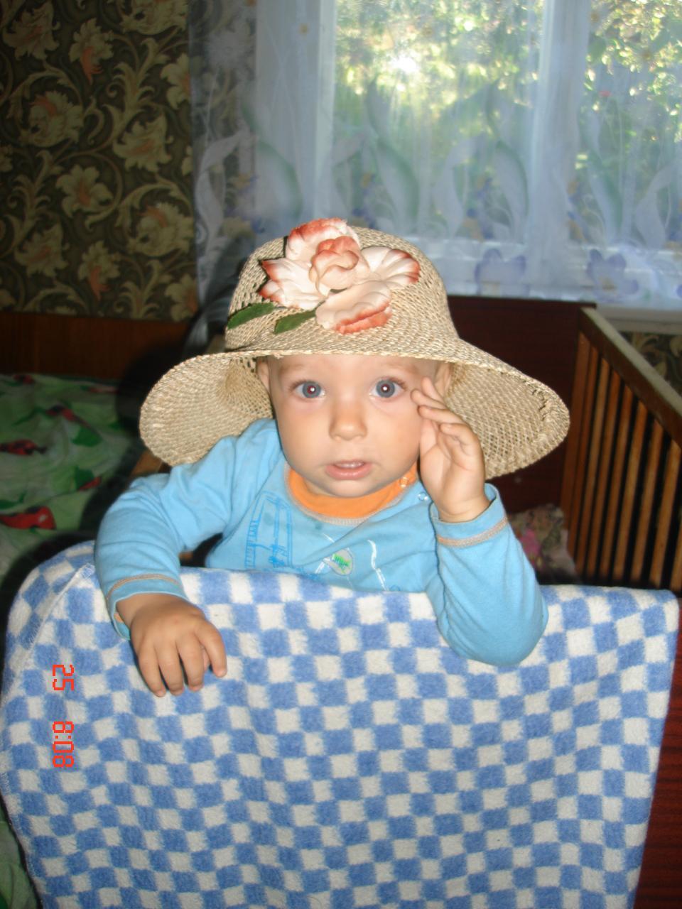 ой, моя шляпка!. Белая панама