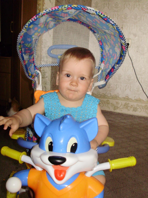 Илья и его лисенок-велосипед. Мои игрушки
