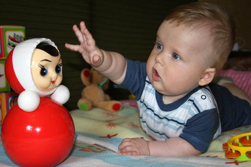 Неваляшка Катя - вот моя любовь!. Мои игрушки