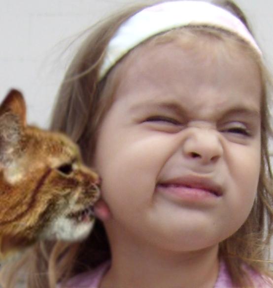 Без комментариев:). Ребенок и   котенок