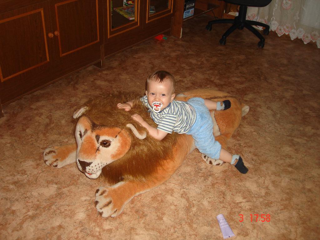 Любимый лев!!!! Егора. Мои игрушки