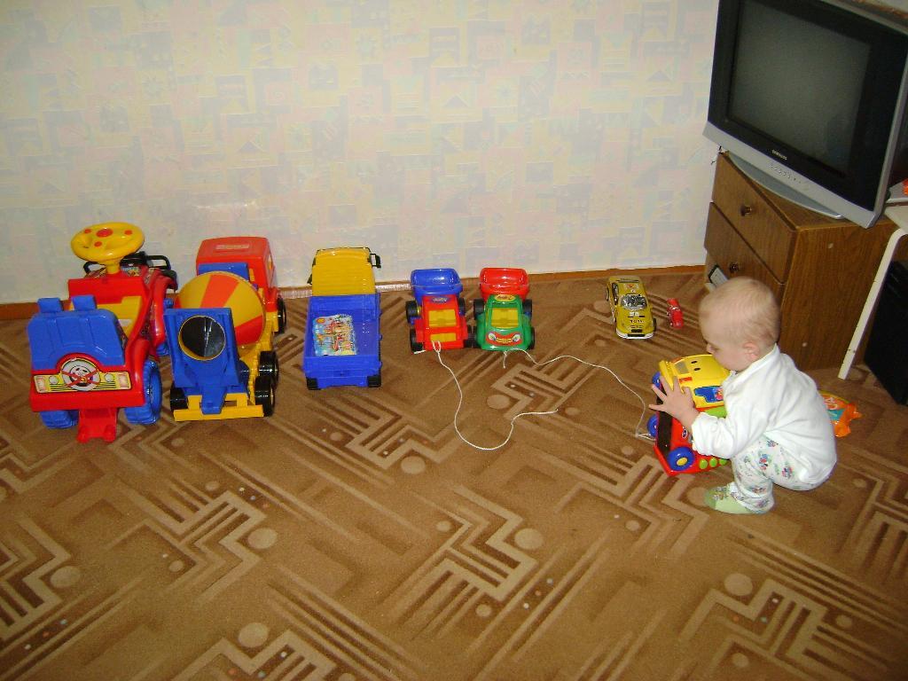 Автосалон. Мои игрушки