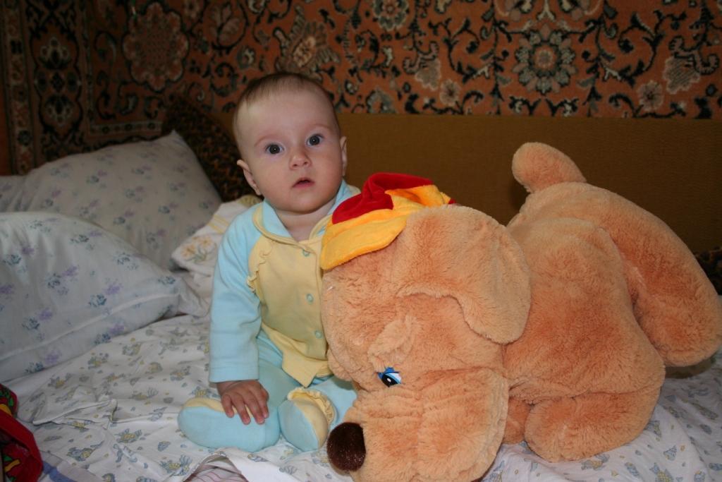 Катюша и Барсик - друзья!. Мои игрушки