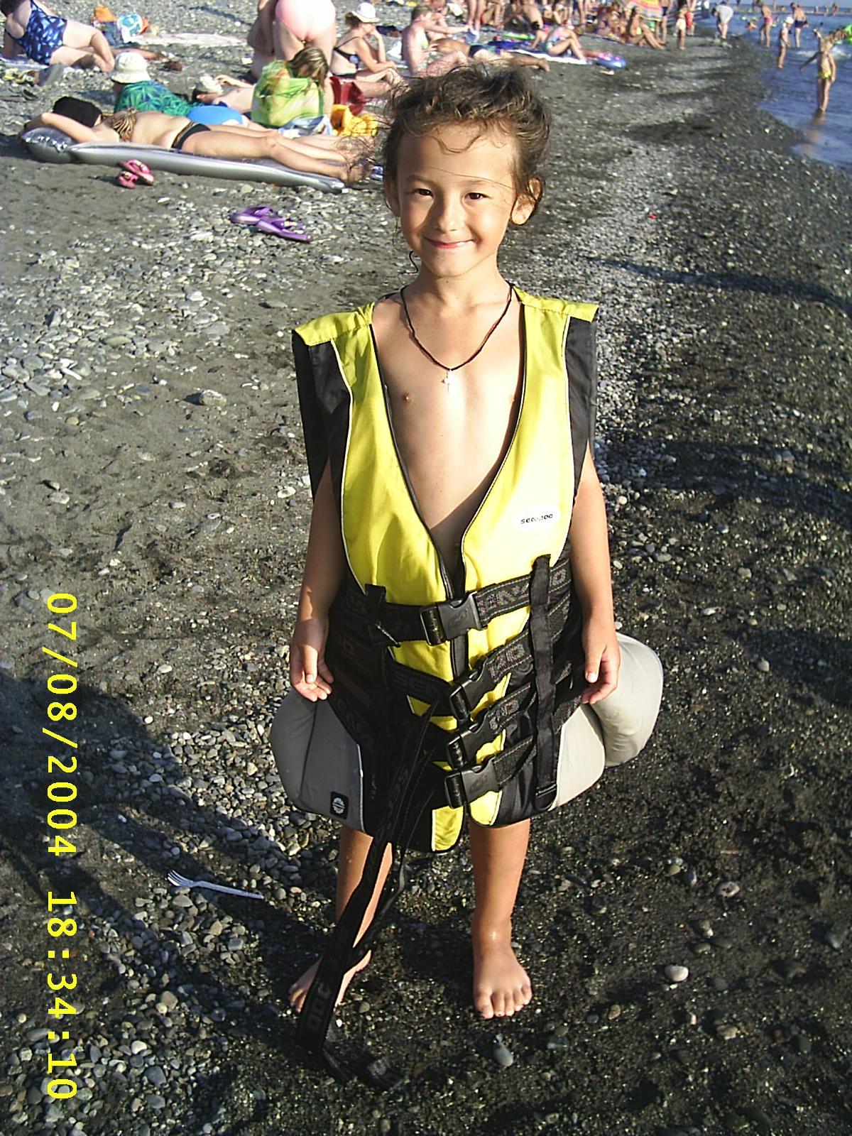 К плаванью готова!. Маленький герой