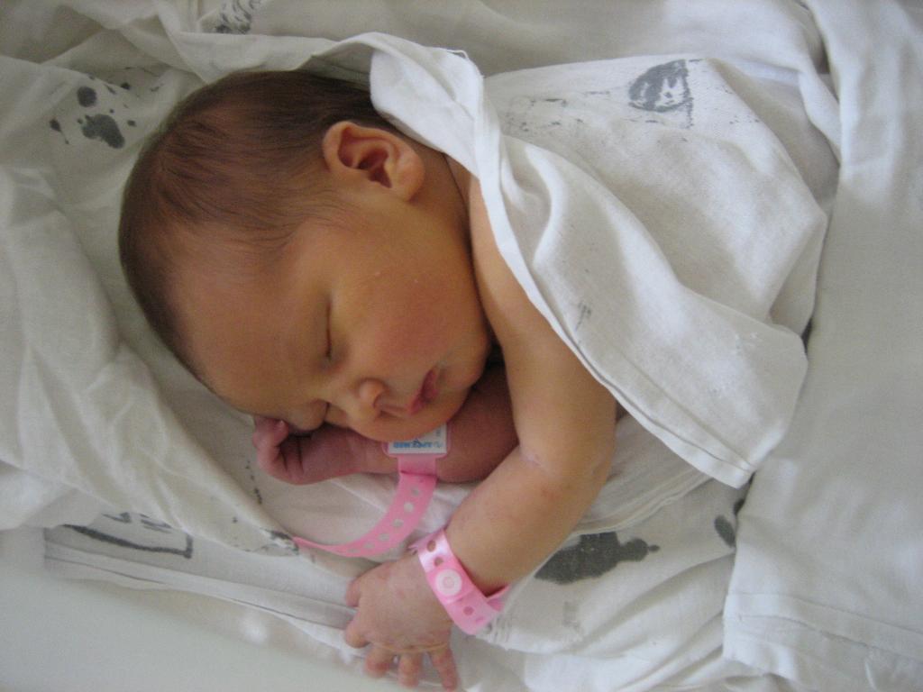 Вот мы и родились :). Первый месяц
