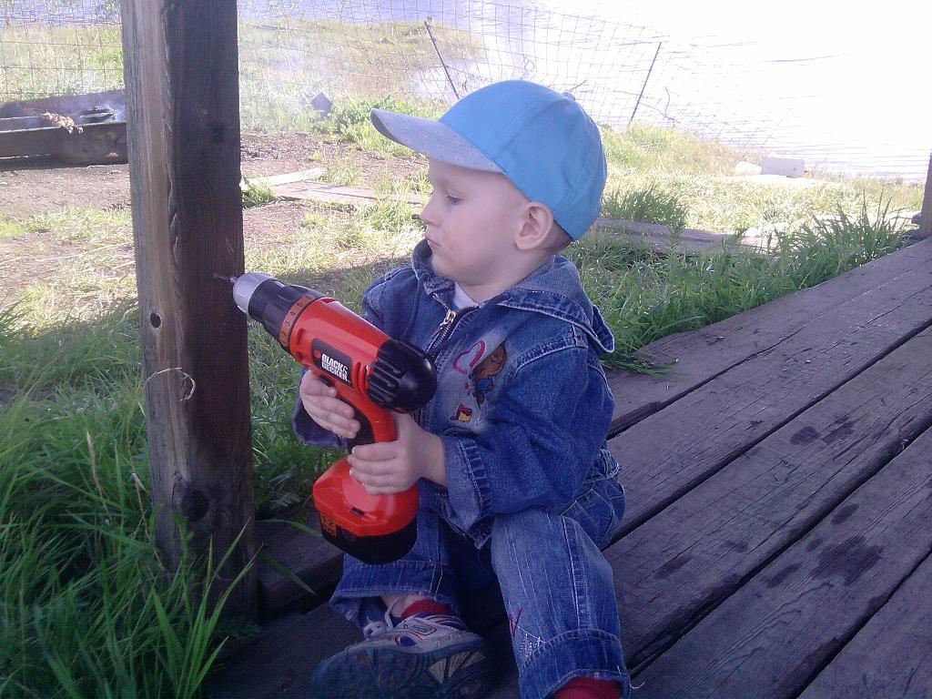 Построил дом. Маленький герой