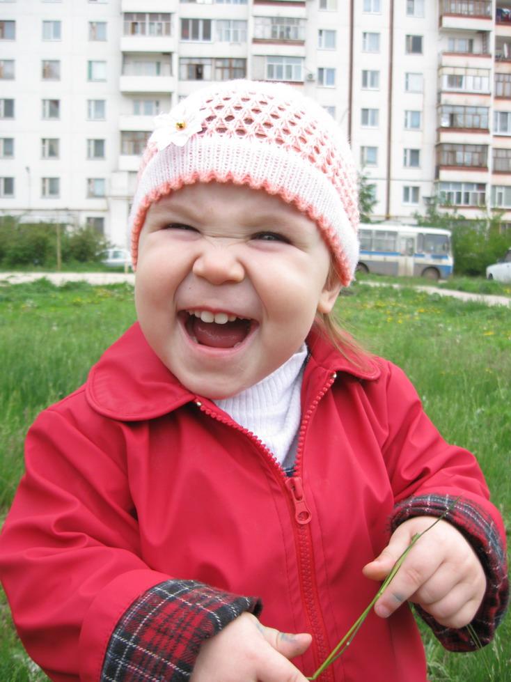 Самое большое счастье на свете, когда Вот так улыбаются дети. Время улыбаться