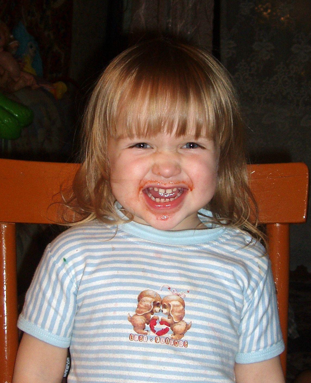 Чумазая улыбочка. Время улыбаться
