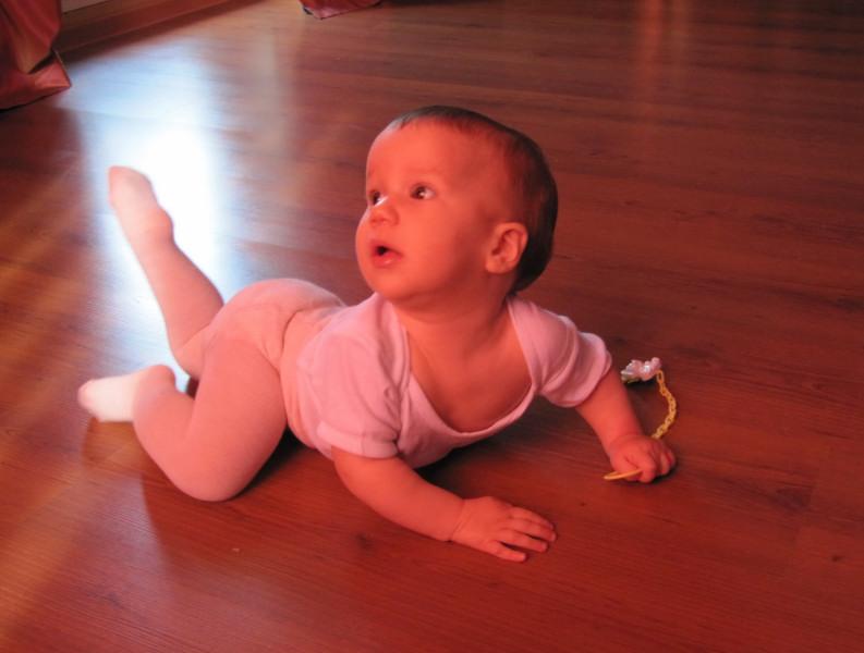Балерина растет. Маленькая модель