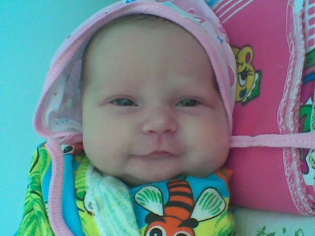 Наша первая улыбка :). Время улыбаться
